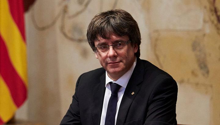 Испания намерена отозвать международный ордер на арест Пучдемона