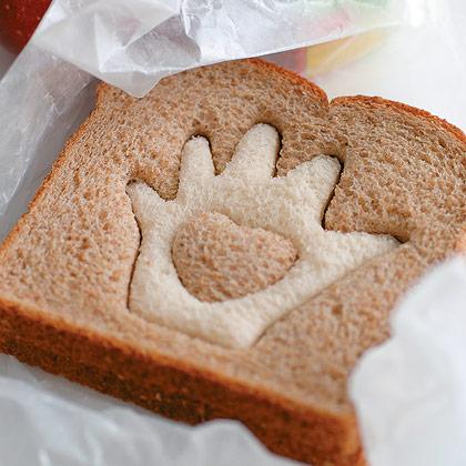 фигурный хлеб