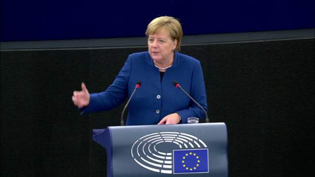 Меркель призвала создать Сов…