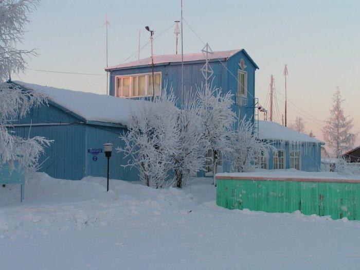 Зимой здесь очень красиво.