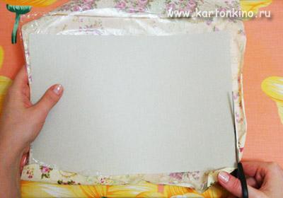 Дизайнерский картон своими руками