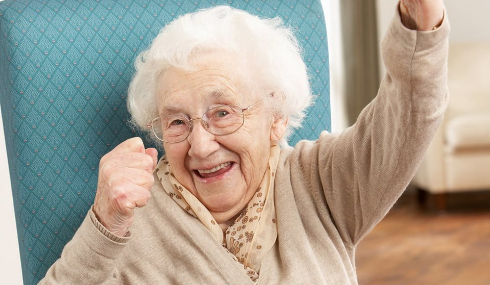 Бабушки бывают разными, да-да!