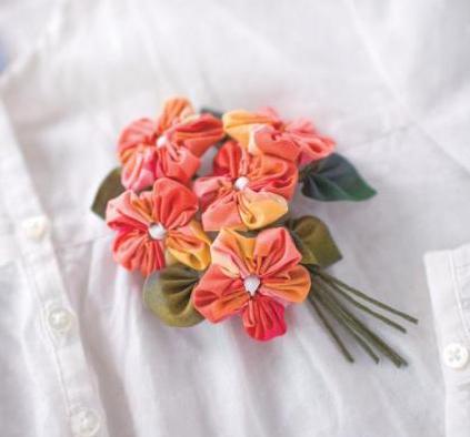 Поделки из цветов йо йо своими руками