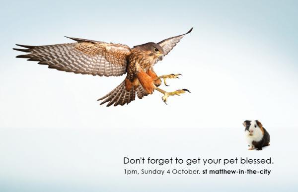 St Matthew-in-the-City: Pet, St Matthew-in-the-city, M&c Saatchi, Печатная реклама