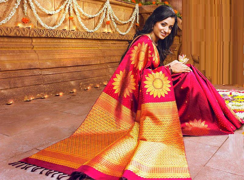 Красивые платья в индийском стиле — достойные богинь, фото № 23