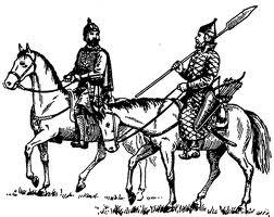Конные дворяне