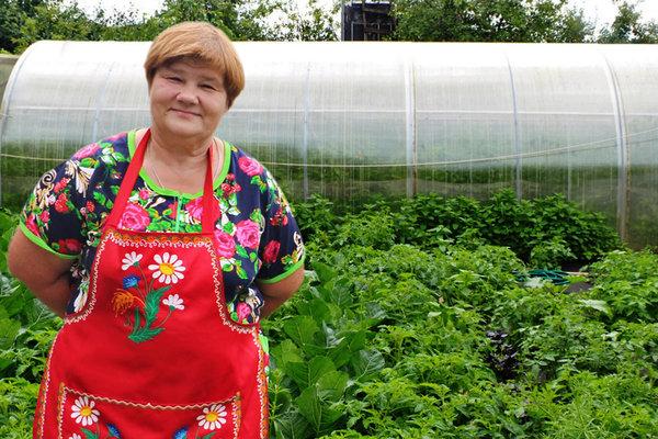 Юлия Миняева: «Огород не дол…