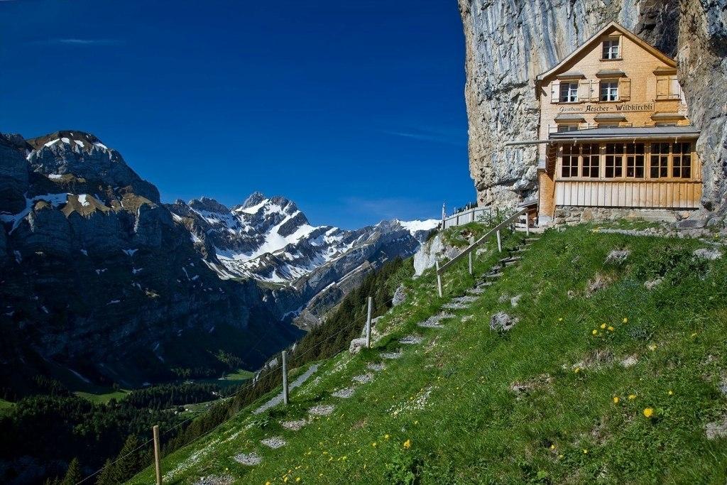 Горный отель Berggasthaus Aescher (Швейцария)