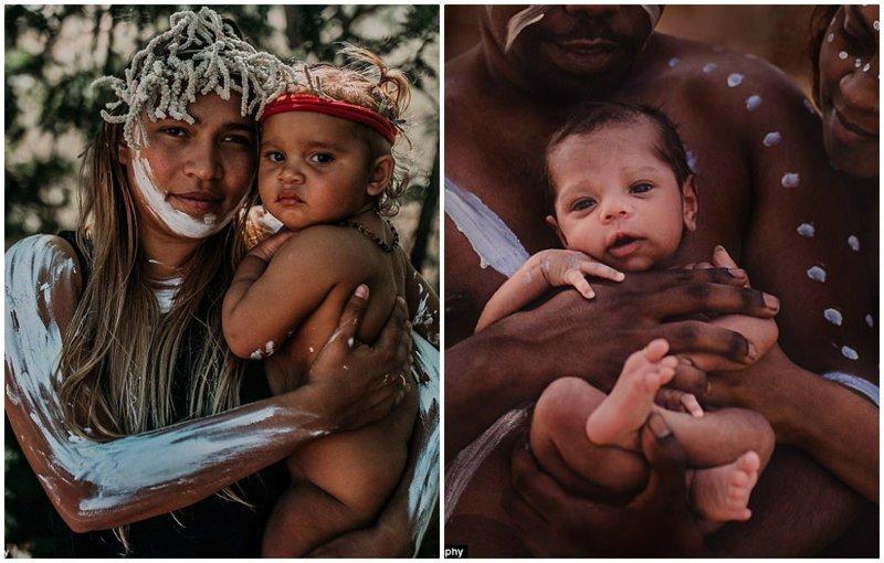 Удивительные фотографии новорожденных с культурным колоритом