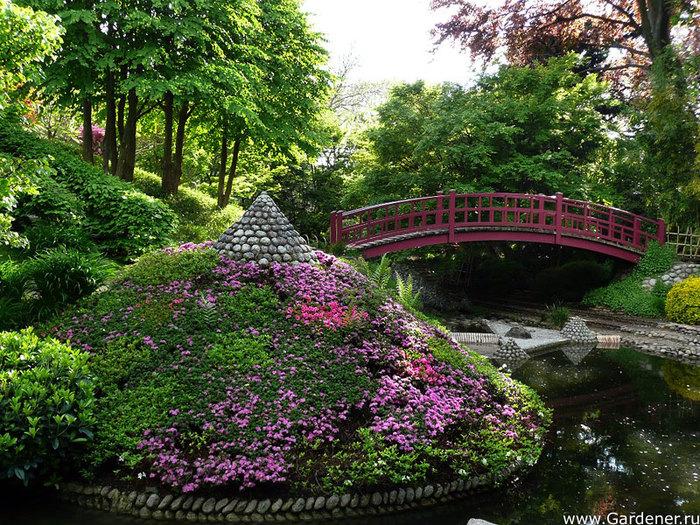 Уникальный сад Альбер-Кан под Парижем.