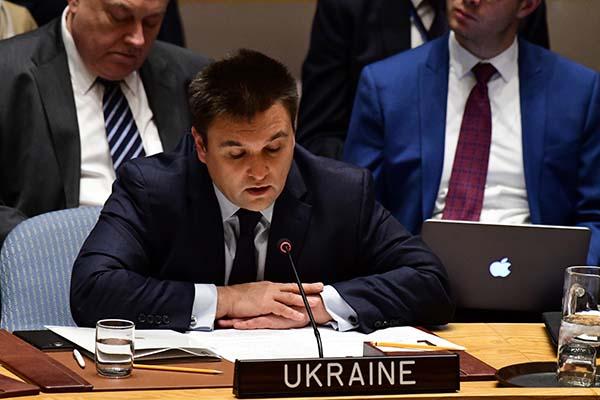 Глава МИД Украины обвинил в Россию в создании «атмосферы безнаказанности»
