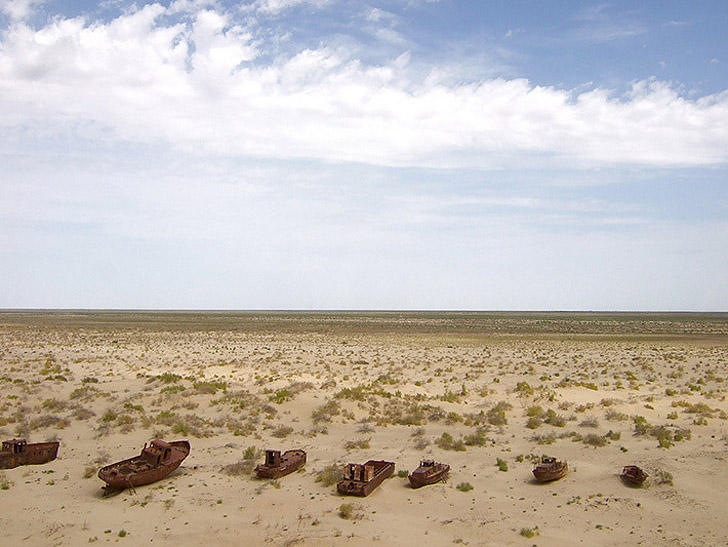 Пустыня Аралкум