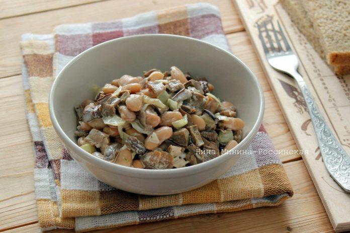 Салат с сушеными грибами: сытный, ароматный и конечно же, неописуемо вкусный