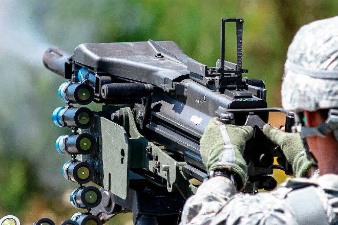 Гранатомет-пулемет: мощь и скорострельность в одном оружии