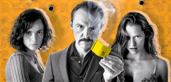 Simon Pegg is Smokin' on Animated Poster for 'Kill Me Three Times'