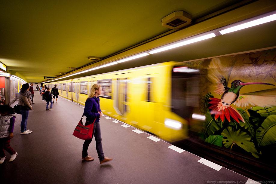 Berlin 13 Общественный транспорт Берлина