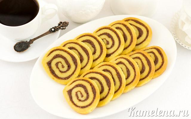 """Печенье с корицей """"Спиральки"""""""