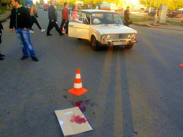 Водитель протаранил толпу людей в Пермском крае: шесть человек пострадали