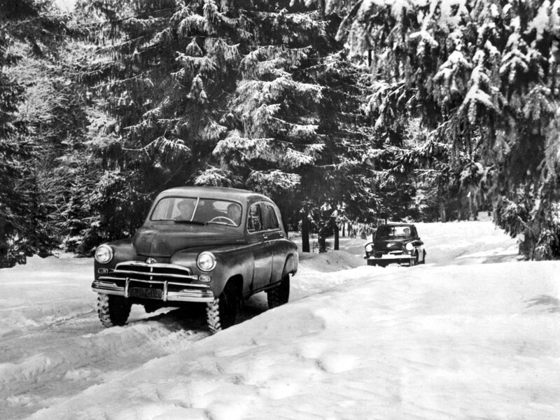 ГАЗ М72, первый кроссовер в мире?                     (5 фото)