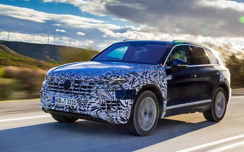 Новый VW Touareg — первый тест-драйв