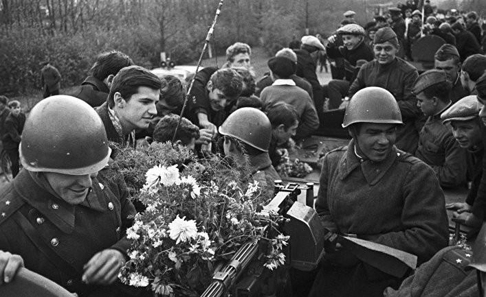 Как советские войска покидали Чехословакию