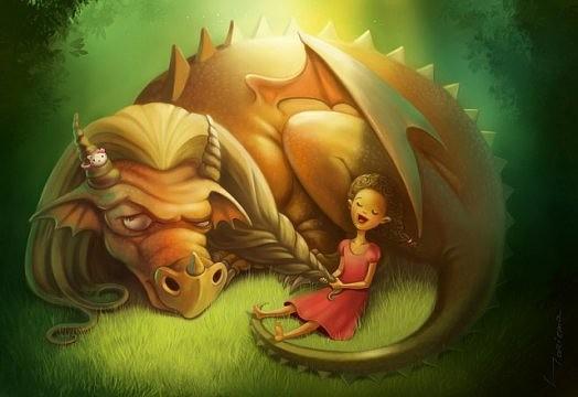 Еще один день из жизни дракона