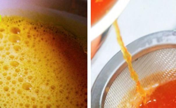 Чай с куркумой для очищения печени