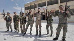 Сирийские войска отразили несколько атак террористов в двух провинциях на севере страны