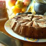Пирог с рикоттой и малиной