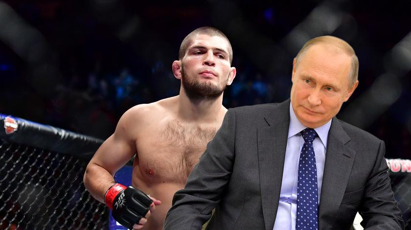 Нурмагомедов летит на встречу с Путиным
