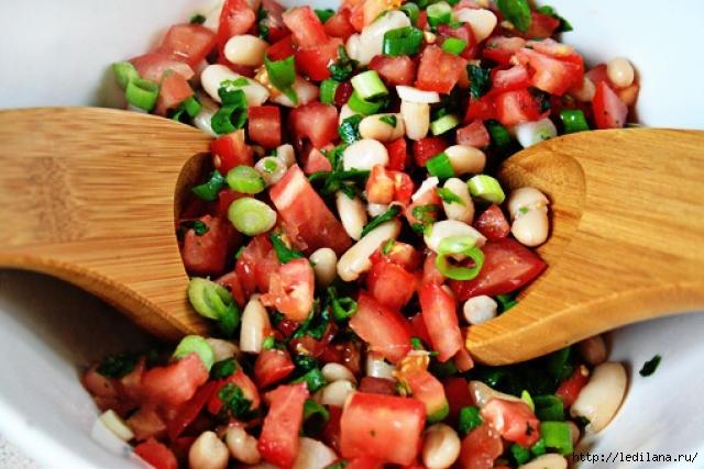 Вкуснейший постный салат