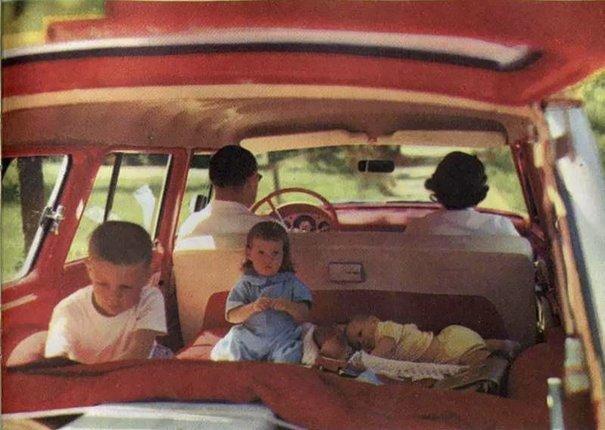 13. 60-е годы, автомобили, легковой автомобиль, старые машины, старые фото, сша, универсал, фургон