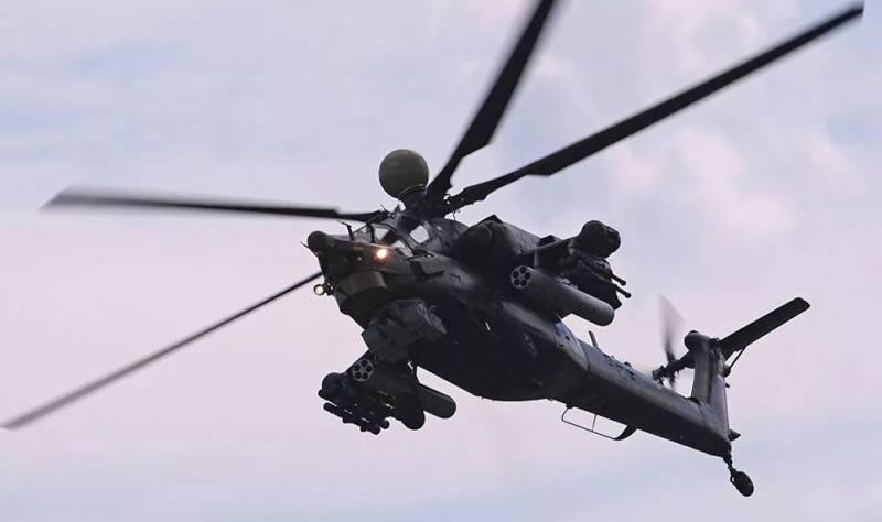 Новейший Ми-28НМ замечен в н…