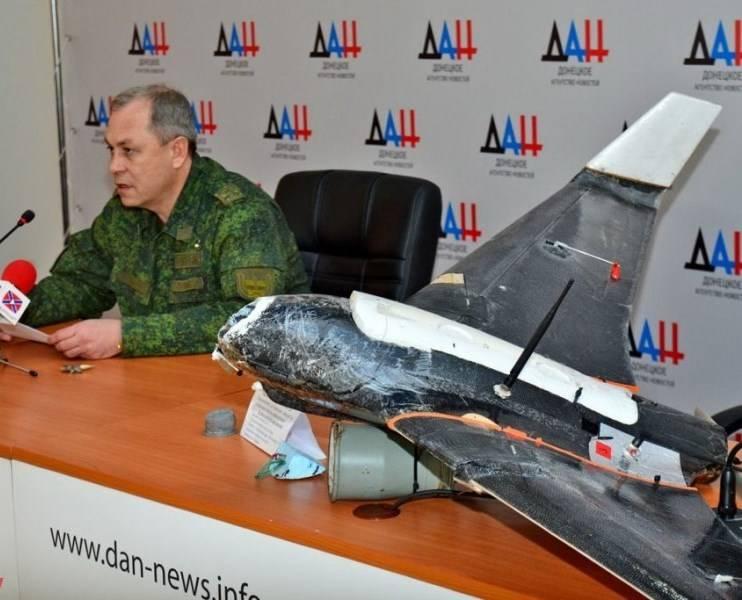Басурин: ВСУ активизировали применение БЛА с осколочными гранатами