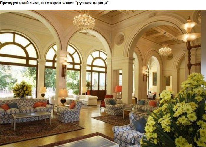 Где отдыхает Царица Светлана (7 фото)