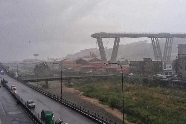 Российские эксперты назвали наиболее вероятную версию обрушения моста в Генуе