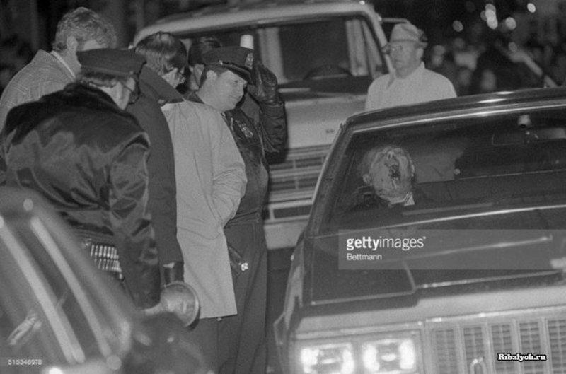 Мафиози Анджело Бруно, убитый выстрелом в голову из ружья, Филадельфия, 1980 год. история, люди, мир, фото