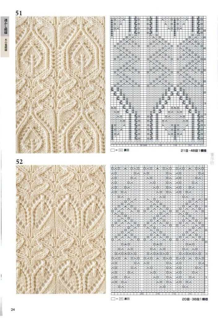 Схемы красивейших узоров