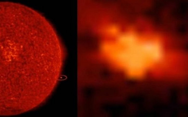 Возле нашего Солнца что-то опять летает – гигантское и загадочное