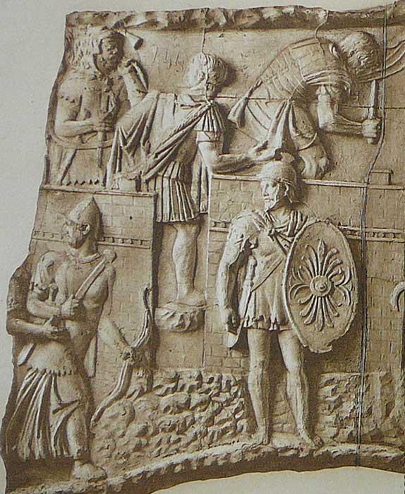 Древнее вооружение римская армия