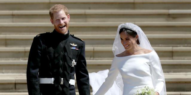 На свадьбе Меган Маркл были обмануты миллионы людей