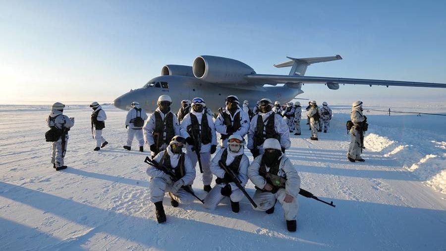 Россия готова противостоять США в Арктике