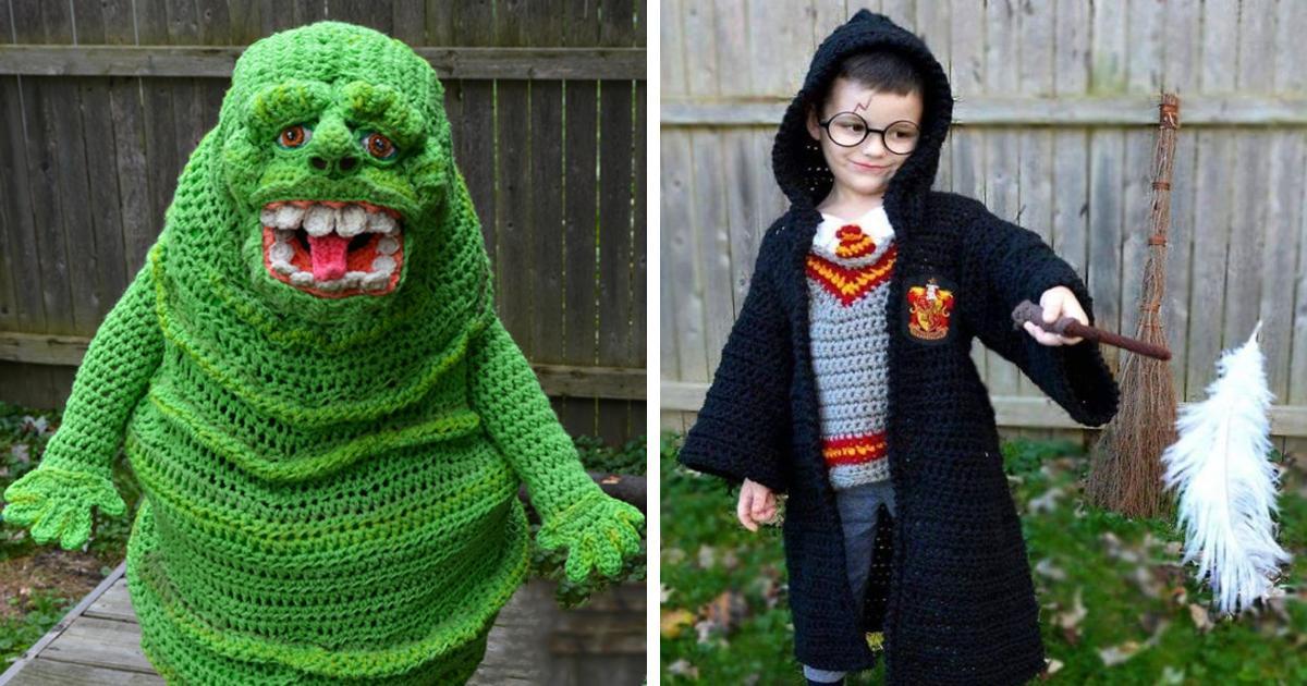 I Crochet Full Body Halloween Costumes For My Children