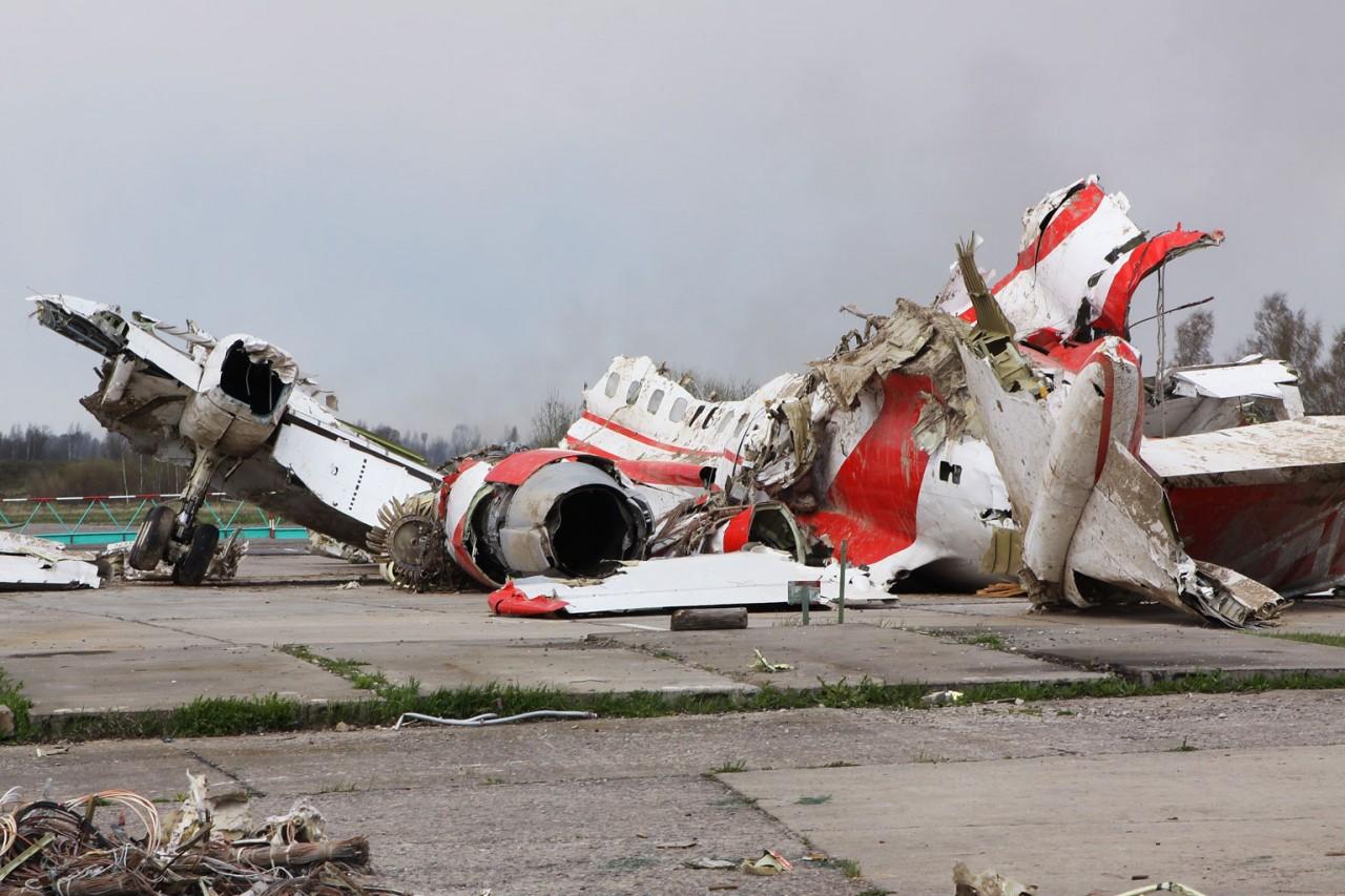 Самолёт президента Польши взорвался изнутри