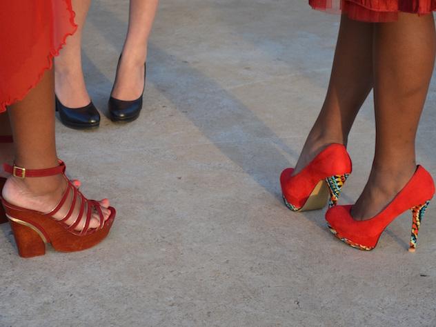 Три итальянки из Виченцы были оштрафованы за каблуки