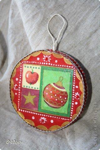 Мастер-класс Новый год Новогоднее украшение Картон фото 12