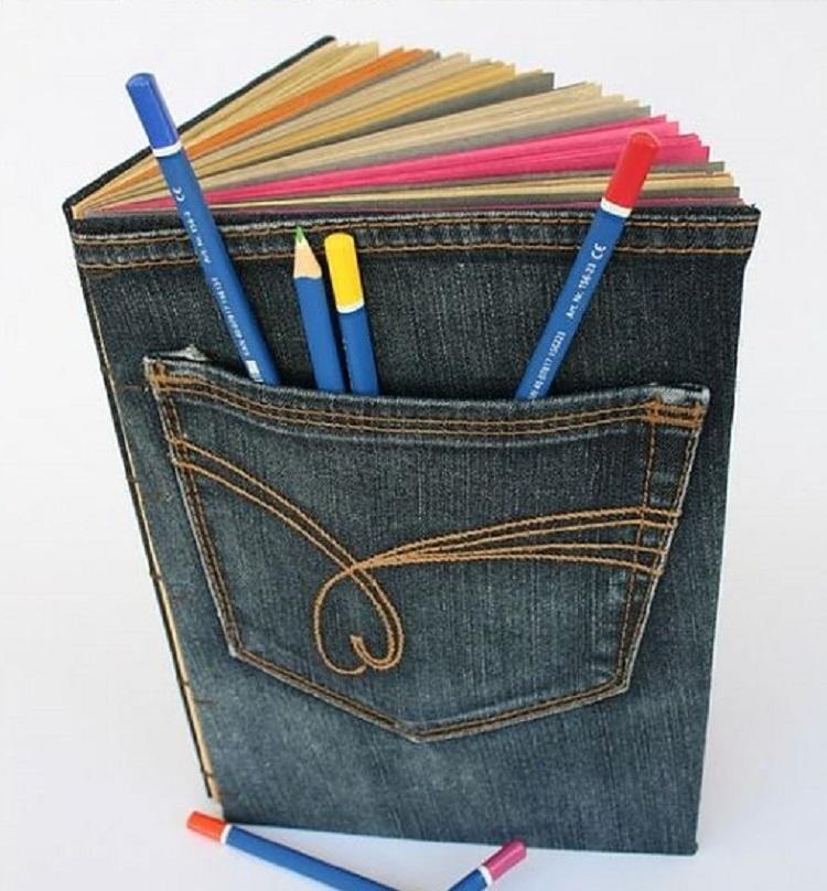 Что можно сделать из старых джинсов своими руками