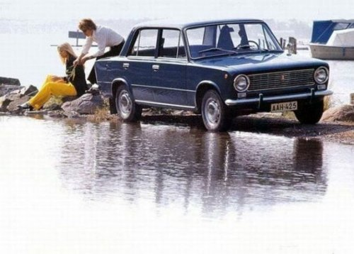Сделано в СССР: реклама советских автомобилей
