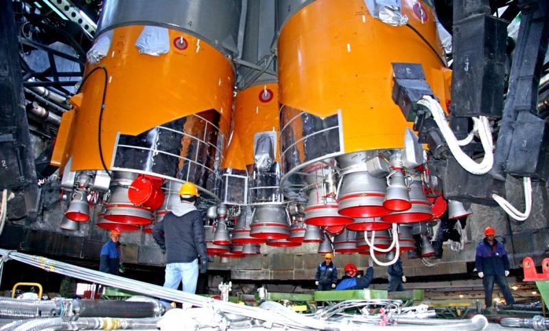 Россия полетит в космос на бытовом газе
