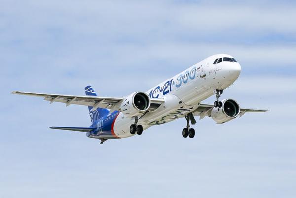 Первый прототип МС-21 успешно совершил первый дальний перелет из Иркутска в Жуковский